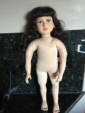 My Twinn Doll Lenora Head 1997 Body 1999, Blue Eyes