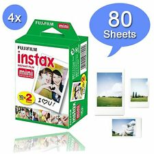 Fuji Instax White 80 instant Film For Fujifilm Mini 8 70 90 50s 25 7s 300 SP-1