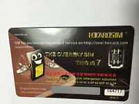 NEW  UNLOCK SIM CARD HEICARDSIM for iPhone 5, 5G, 5S, 5C,6 6+ 6S 6S+ 7 7+
