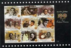 INDIA 2013 Cinema Movies Pictures Bollywood Film Ashok Kumar Dev Anand MS #1/6