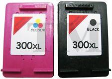 2 Cartuchos De Tinta Compatible 300 XL Para HP Deskjet F2480 Negro Color Non Oem