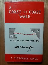 """A Coast to Coast Walk"" by A Wainwright. Two Volumes."