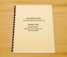 Remington Model 760 Field Service Manual Gunsmith - #15