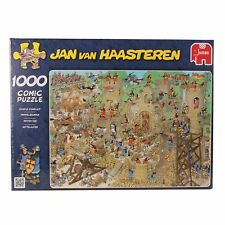 Jan Van Haastern Jigsaw Puzzle 'castle conflict' 1000 Piece