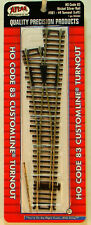 NEW HO Atlas 561 #4 Manual Left Hand Turnout Code 83 Snap Track