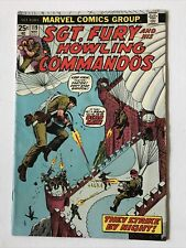 MARVELS SGT FURY and his HOWLING COMMANDOS # 119 HIGH GRADE ISSUED 1963/1981