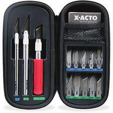 HUNT MFG. Knife Set 3 Knives 10 Blades Carrying Case X5285
