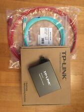 TP-LINK Gigabit Ethernet Singlemode Media Converter 1000Mbit/s NEU OVP