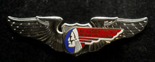 MOHAWK AIR AIRLINES WING HAT PIN UP NEW YORK NY DC3 Convair 240 440 Martin 4-0-4