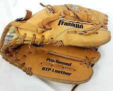 "FRANKLIN RTP Leather Pro-Tanned 4640 11"" RHT Baseball Mitt Youth"