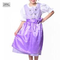 SALE! NEU! Wunderschönes Kinder Dirndl Trachtenkleid 3-teilig in LILA UVP 29,90€