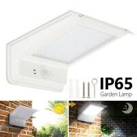 LED Projecteur Lampe Solaire Murale Capteur Lumière Capteur Sécurité Extérieure