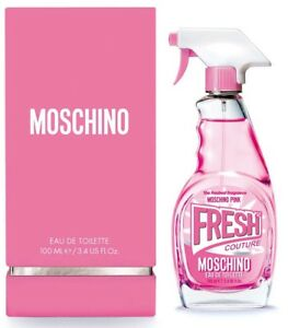 jlim410: Moschino Fresh Couture Pink for Women, 100ml EDT Free Shipping / Paypal