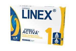 LINEX Probiotics 16 caps - Baby, Children, Adults