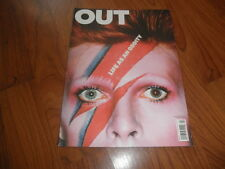 Out magazine-DAVID BOWIE TRIBUTE 2013-Mint copy-Life As An Oddity
