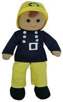 Powell Craft Rag Doll - Fireman - Retro Gift idea for Boys and Girls Birthday