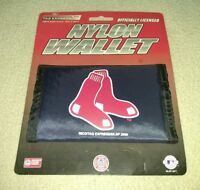 Boston Red Sox Officially Licensed MLB Nylon Wallet brand new