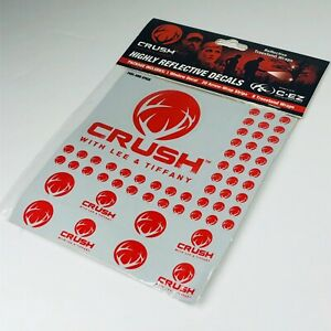 Crush w/ Lee & Tiffany - Highly Reflective Decals Bow Hunters Arrow Stickers SMA