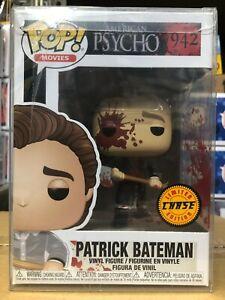 Funko POP! American Psycho PATRICK BATEMAN Chase Figure #942 w/ Protector MINT