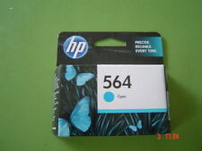 HP Printer Ink Cartridge 564 Cyan New unopened in Box Surplus to my requirements