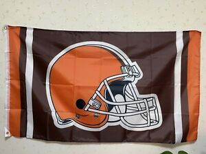 New Cleveland Browns Flag 3X5 FT NFL Banner Polyester