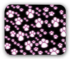 Pink Paw Prints Mousepad Anti-Slip Mouse Pad Mat Mice Mousepad