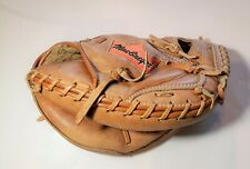 MacGregor, All Leather MM100 Youth Baseball Catchers Mitt, Right Hand Thrower