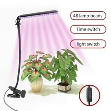 LED Plant Grow Light Bulbs Full Spectrum Timer Set 5-speed Adjustment with USB