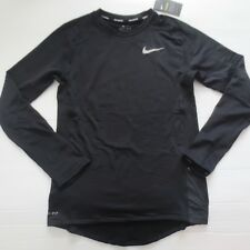 Nike Men Therma Sphere Element Shirt - 857827 - Black 011 - Size M - NWT