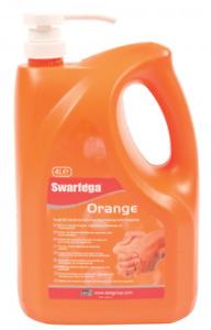 Deb Swarfega Orange 4 Litre Pump Top  - Heavy Duty Hand Cleaner