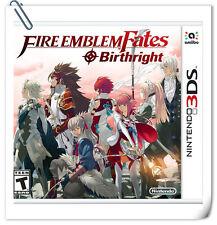 3DS Fire Emblem Fates: Birthright Nintendo RPG Games