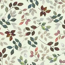 Quilting Treasures Rosewater Tossed Leaves Branches 100% cotton Fabric by yard