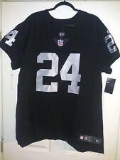 Nike Elite Authentic Marshawn Lynch Oakland Raiders Jersey Size 52 (XXL)