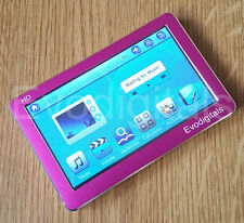 "Nuevo Evodigitals Rosa 32GB 4.3"" Pantalla Táctil MP5 MP4 MP3 Reproductor Video + Tv Out"