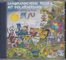 SANDMÄNNCHENS REISE MIT DER LIEDERBAHN Wolfgang Richter CD Kinderlieder 1987 NEU