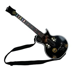 Microsoft Xbox 360 Red Octane Gibson Les Paul Guitar Hero Wireless Controller