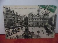 CPA ville de LYON - Place des terreaux et l'Hôtel de ville