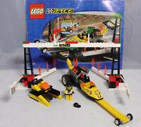 Lego Race 6616 Racer Rocket Dragster mit Rückzugsmotor komplett +BA  #13