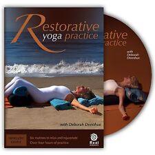 Restorative Yoga with Deborah Donohue - DVD - Run Time 4 Hours