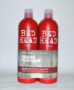 (EUR 13,33 / L) Tigi Bed Head RESURRECTION Shampoo Conditioner 2x750ml TWEEN DUO