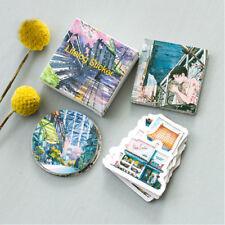 45pcs Travel Landscape Mini Paper Sticker DIY Scrapbooking Label Stickers New