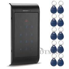 Contrôle d'accès RFID Serrure Digicode + 10 Clé Badge Proximité Sécurité Maison