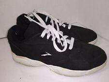 Vintage Brooks Black Canvas Laces Sneakers Shoes Womens Size 10
