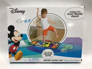 Disney Junior Interactive Electronic Piano | Mickey Music Mat | WIC#939029