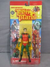 "Dc Direct Teen Titans Robin 6"" Contemporary Action Figure New"