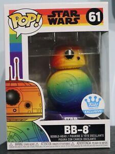 Funko Pop! - BB-8 (Pride) 61 - Rainbow Star Wars Collection - Funko Shop [1]