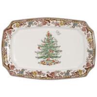 """Spode CHRISTMAS TREE GROVE 17 1/2"""" Rectangular Serving Platter 8949179"""