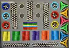 420 PIECE MAGNETIC  STRONG BUILDING SET EXECUTIVE OR EDUCATIONAL TOY