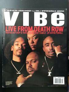 VIBE Magazine February 1996 Snoop/Dre/Tupac/Suge