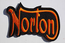 NORTON  - Iron/Sew On Patch Biker -Rockers - Ton Up Boys No598